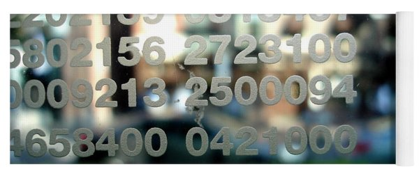 Not Just Numbers Yoga Mat