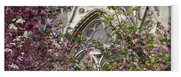Notre Dame In April Yoga Mat