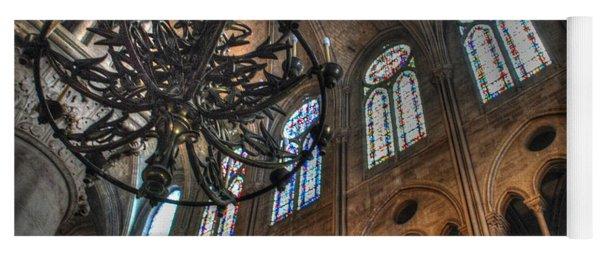 Notre Dame Interior Yoga Mat