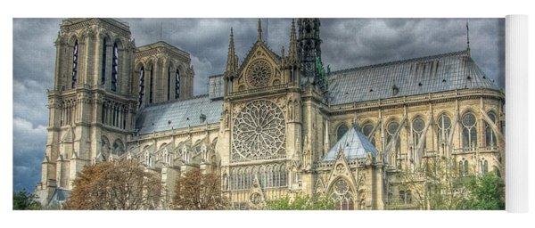 Notre Dame Yoga Mat
