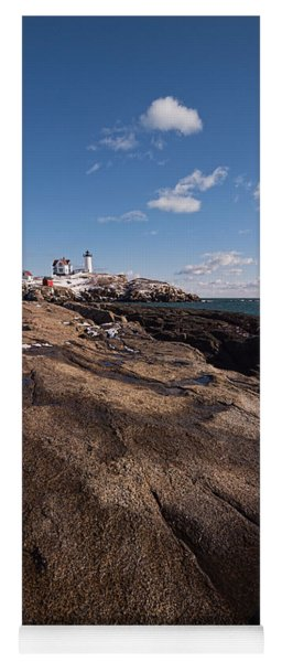 Nubble Light Portrait Yoga Mat