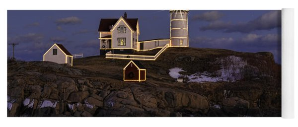 Nubble Lighthouse Ll Yoga Mat