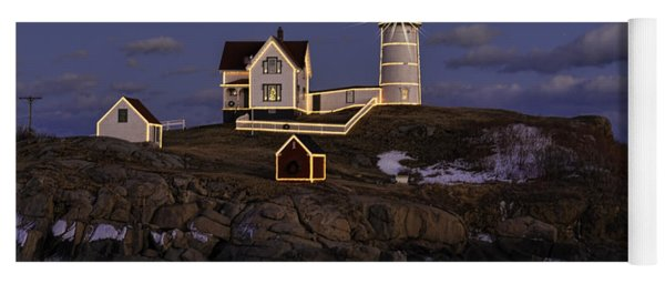 Nubble Lighthouse Ll Yoga Mat