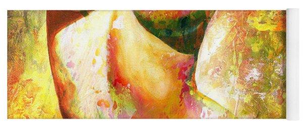 Nude Details - Digital Vibrant Color Version Yoga Mat
