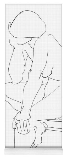 Nude Female Drawings 12 Yoga Mat