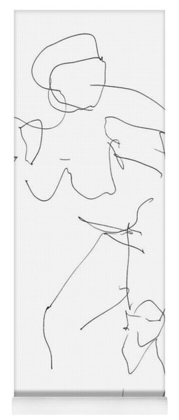 Nude Female Drawings 14 Yoga Mat