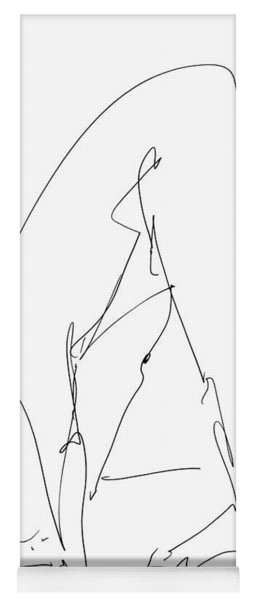 Nude Male Drawings 32 Yoga Mat