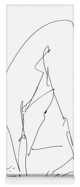 Nude Male Drawings 32 Yoga Mat