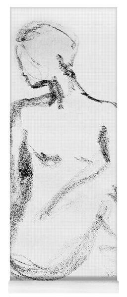 Nude Model Gesture Vi Yoga Mat