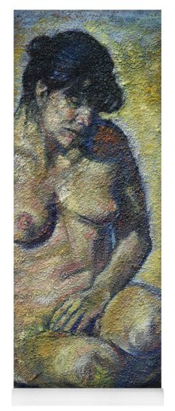 Sad - Nude Woman Yoga Mat