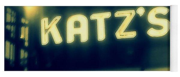 Nyc's Famous Katz's Deli Yoga Mat