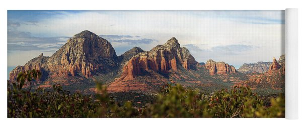 Oak Creek Canyon Sedona Pan Yoga Mat