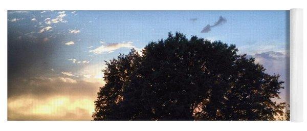 Oak Tree At The Magic Hour Yoga Mat