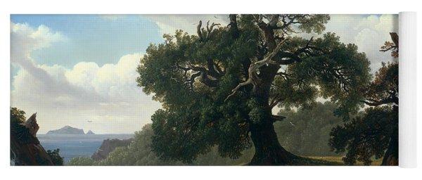 Oak Trees By The Sea Yoga Mat