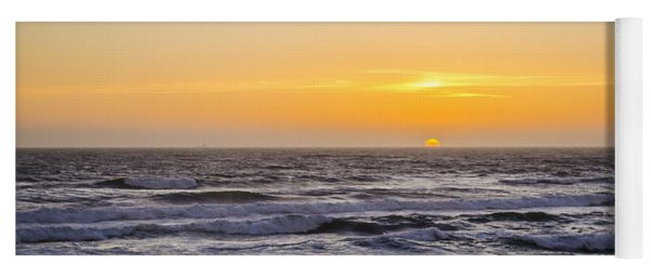 Ocean Beach Sunset Yoga Mat