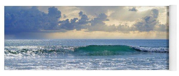 Ocean Blue Yoga Mat