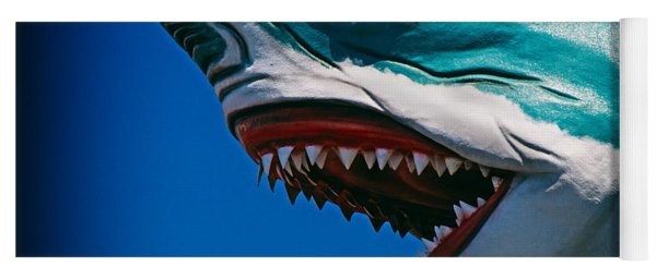 Ocean City Shark Attack Yoga Mat