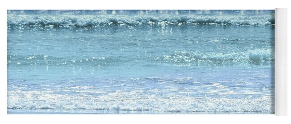 Ocean Colors Abstract Yoga Mat
