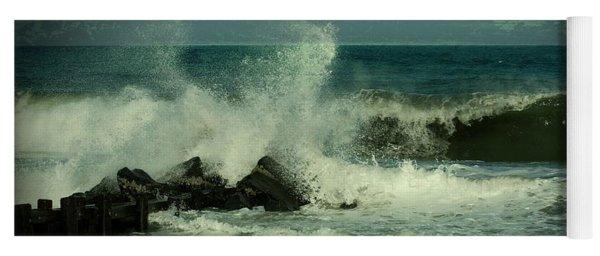 Ocean Impact - Jersey Shore Yoga Mat