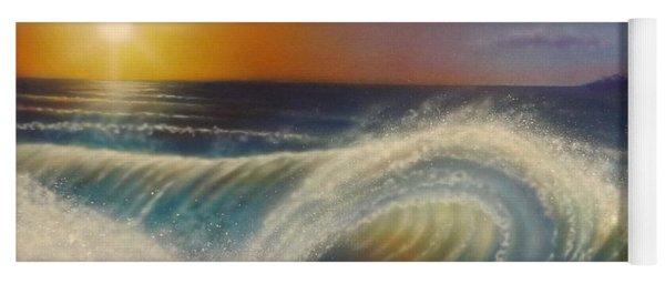 Ocean Wave Yoga Mat