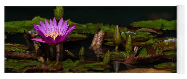 October Lilies 2 Yoga Mat