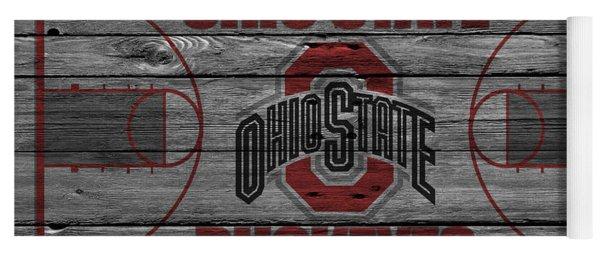 Ohio State Buckeyes Yoga Mat