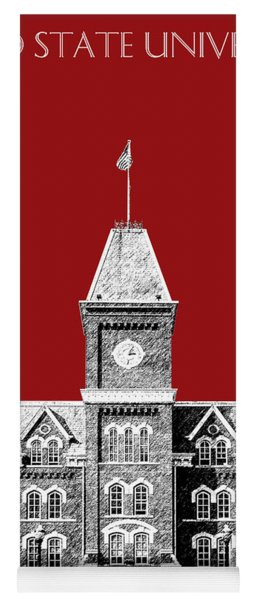 Ohio State University - Dark Red Yoga Mat