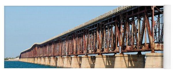 Old Bahia Honda Bridge 2 Yoga Mat