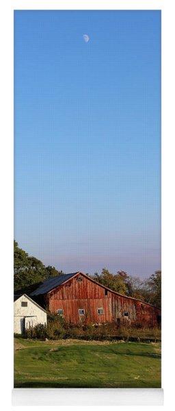 Old Barn At Sunset Yoga Mat