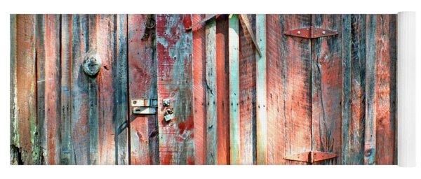 Old Barn Door 2 Yoga Mat
