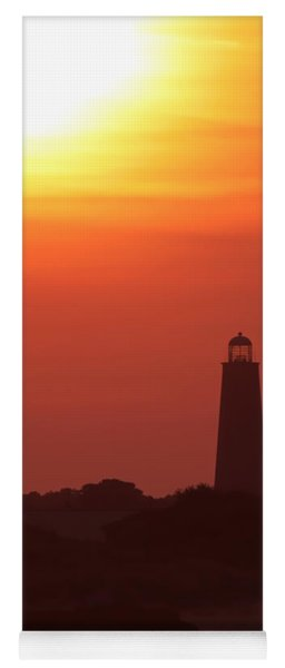 Old Cape Henry Lighthouse  Yoga Mat