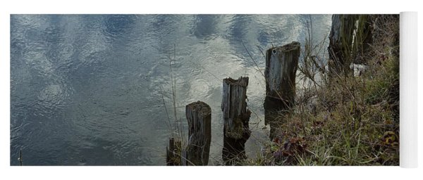 Old Dock Supports Along The Canal Bank - No 1 Yoga Mat