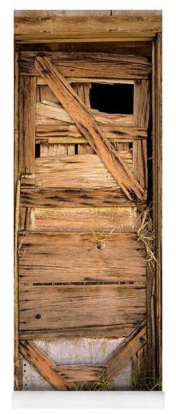 Old Door Yoga Mat