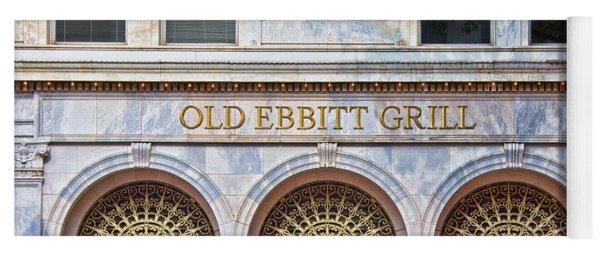 Old Ebbitt Grill Yoga Mat
