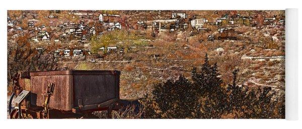 Old Mining Town No.24 Yoga Mat