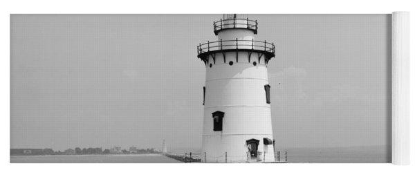Old Saybrook Connecticut Lighthouse Yoga Mat