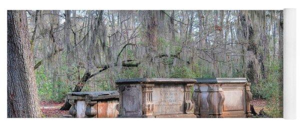 Old Sheldon Church Broken Tombs Yoga Mat
