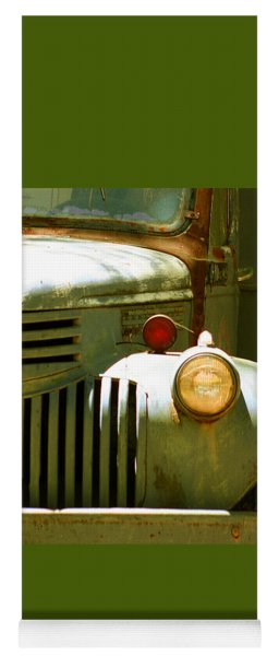 Old Truck Abstract Yoga Mat