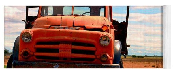 Old Truck Yoga Mat