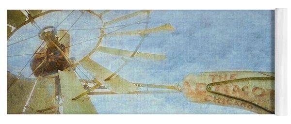 Old Windmill Yoga Mat