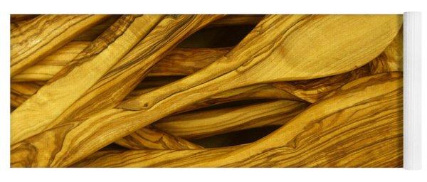Olive Wood Yoga Mat