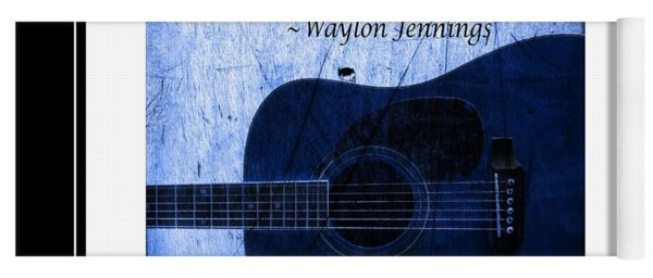 One More Way - Waylon Jennings Yoga Mat