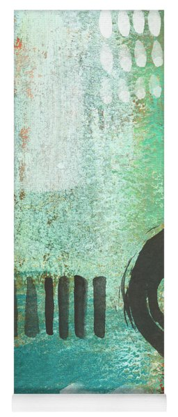 Open Gate- Contemporary Abstract Painting Yoga Mat