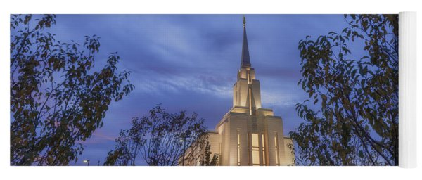 Oquirrh Mountain Temple II Yoga Mat