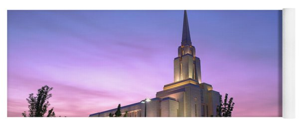 Oquirrh Mountain Temple Iv Yoga Mat