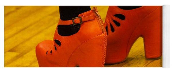 Orange Pair Yoga Mat