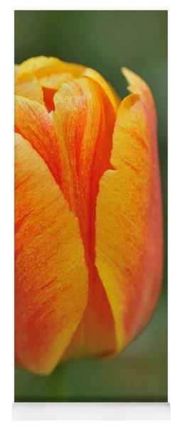 Orange Tulip Yoga Mat