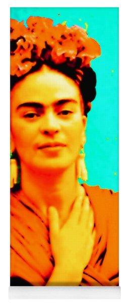 Orange You Glad It Is Frida Yoga Mat