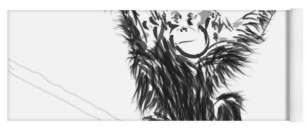 Orangutan Baby Yoga Mat
