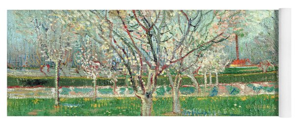 Orchard In Blossom, 1880  Yoga Mat